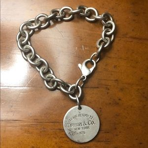 Tiffany&Co Round Tag Bracelet